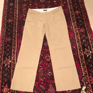 Tan khakis casual pants